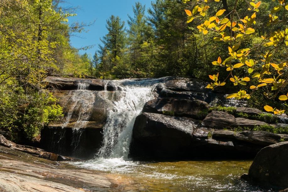 Wintergreen Falls.